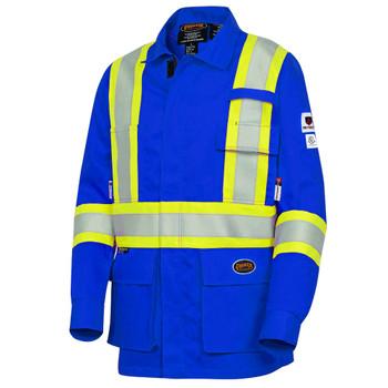Pioneer 7774 Fr-Tech® Flame Resistant 9 OZ Safety Jackets - Hi-Viz Royal Blue | Safetywear.ca