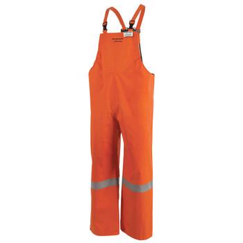 Ranpro P160 041A Petro-Gard® Flame Resistant/ARC Rated Neoprene Coated Safety Bib Pants - Hi-Viz Orange | Safetywear.ca