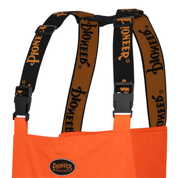 "Pioneer 5053 ""The Rock"" Oxford Poly Insulated Bib Pants - Hi-Viz Orange | Safetywear.ca"