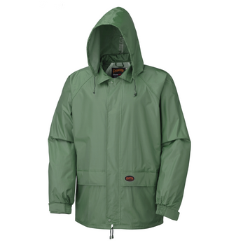 Pioneer 583 Waterproof 2-Piece Rainsuits - Retail Poly Bag - Green | Safetywear.ca