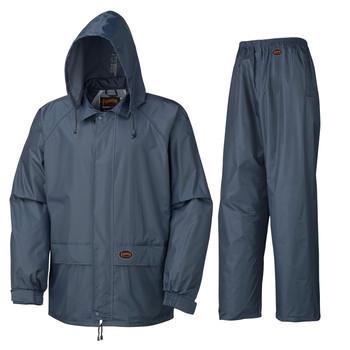 Blue 883 Polyester/PVC Rain Suit