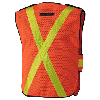 145 Hi-Viz All-Purpose Vest, Back | Safetywear.ca