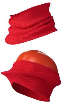 Pioneer 562 Hat Liner/Windguard - Red (12 Pack)   Safetywear.ca
