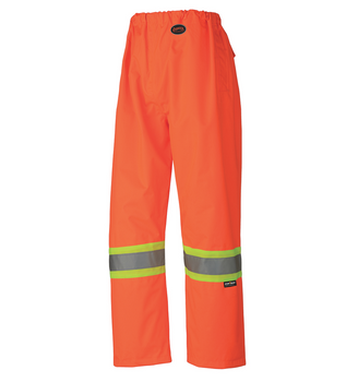 Safety Orange - 5576 Hi-Viz 100% Waterproof Pant