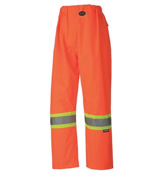 Pioneer 5576 100% Waterproof Pant - Hi-Viz Orange | Safetywear.ca
