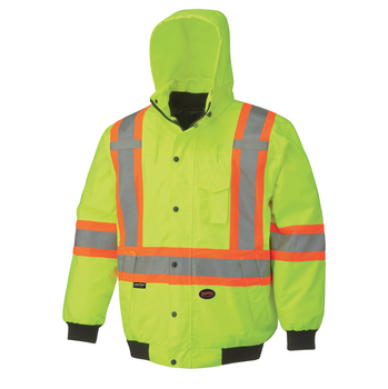 Outer Jacket - 5023 Hi-Viz 100% Waterproof 6-In-1 Bomber