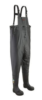1043 Steel Toe/Steel Plate Chest Wader