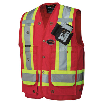 Red - 694 CSA Surveyor's / Supervisor's Vest