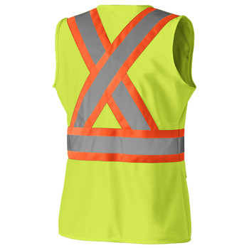 Pioneer 139 Women's Safety Vest - Hi-Viz Yellow/Green   Safetywear.ca