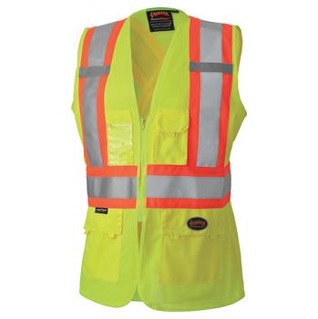 Safety Yellow - 139 Hi-Viz Women's Safety Vest