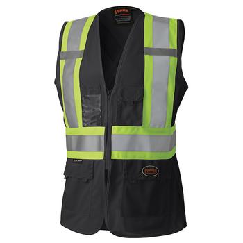 Black - 139BK Hi-Viz Women's Safety Vest