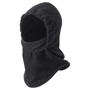 5503 Single-Layer Micro Fleece Hood With Face Mask