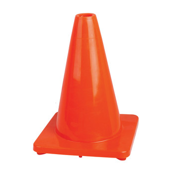 "180P 12"" (30.5 cm) Premium PVC Flexible Safety Cone 