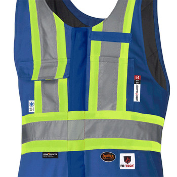 Pioneer 5524A Flame Resistant/ARC Rated Insulated Safety Overalls - Royal | Safetywear.ca