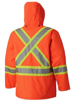 Safety Orange - 5575A Hi-Viz 100% Waterproof Jacket
