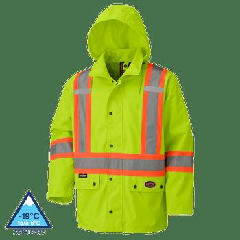 Pioneer 5585A 450D Hi-Viz 100% Waterproof Jacket | Safetywear.ca