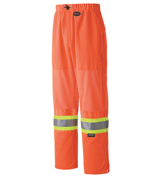 Safety Orange - 6001P Hi-Viz Traffic Safety Pant