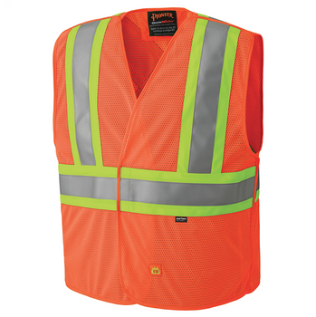 Safety Orange - 6914A Flame Resistant Hi-Viz Vest