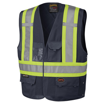 Navy - 134N Hi-Viz Navy Safety Vest