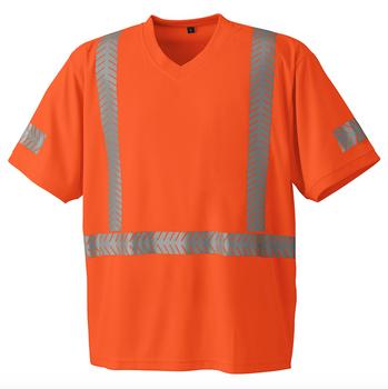 Pioneer 6900 UV Protection CoolPass® Safety T-shirt - Hi-Viz Orange | Safetywear.ca