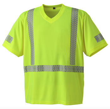 6901 Ultra-Cool, Ultra Breathable Safety Shirt Back
