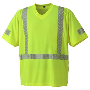 Pioneer 6901 UV Protection CoolPass® Safety T-shirt - Hi-Viz Yellow/Green | Safetywear.ca