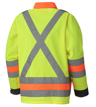 6007 Hi-Viz Breathable Traffic Control Safety Jacket