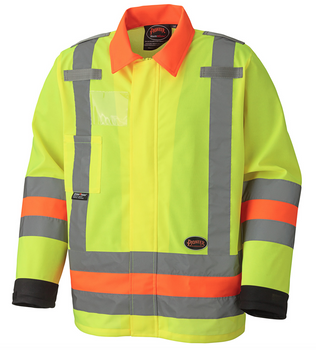 Hi-Viz Traffic Control Safety Jacket