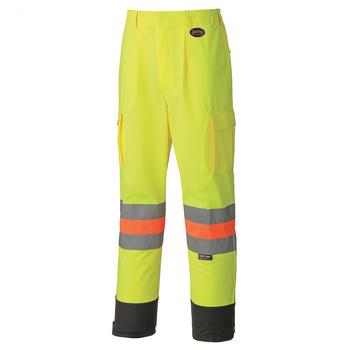 Pioneer 6009 Breathable Traffic Safety Pant - Hi-Viz Yellow/Green | Safetywear.ca