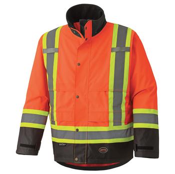 5400 300D Hi-Viz Trilobal Ripstop Waterproof Safety Jacket