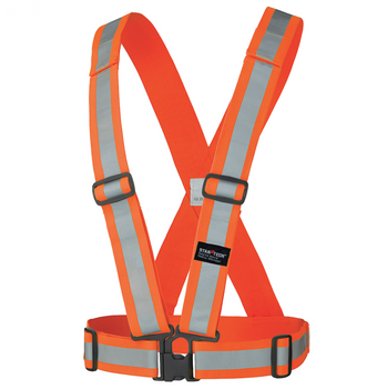 ORANGE 5591 Hi-Viz Safety Sash | Safetywear.ca
