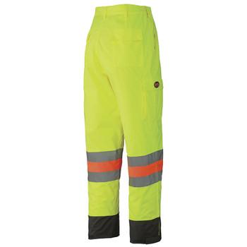 Pioneer 6039 Waterproof Traffic Safety Pants - Hi-Viz Yellow/Green | Safetywear.ca