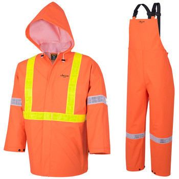 Safety Orange - R85 Element FR PVC 3-Piece Suit