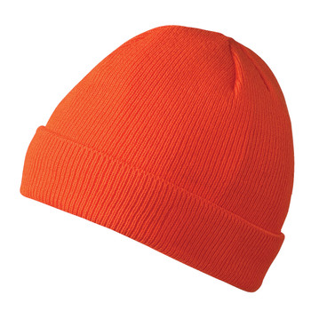 Pioneer 5564A 100% Acrylic Knit Lined Toque - Hi-Viz Orange | Safetywear.ca