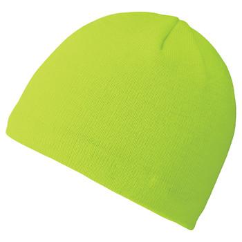 Pioneer 5572A 100% Acrylic Knit Lined Toque - HI-Viz Yellow/Green | Safetywear.ca