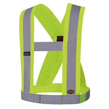 "5493 Hi-Viz CSA 4"" Wide Adjustable Sash Front 