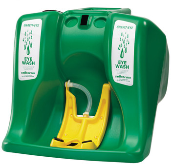 S90320 16-Gallon Gravity-Eye Portable Eyewash Station