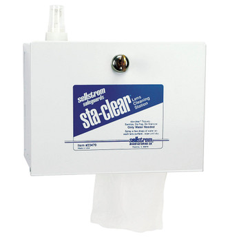 S23470 Metal Station (1,000 Tissues And Spray Bottle)