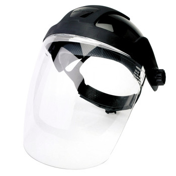 S32010 Standard Face Shield With Ratcheting Headgear