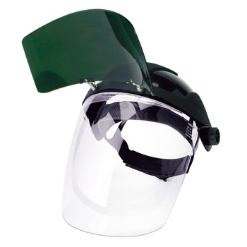 S32151 Multi-Purpose Face Shield With Flip-Up IR Window And Ratcheting Headgear