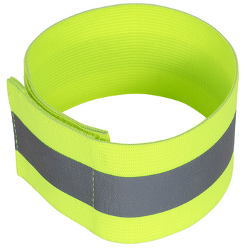 Pioneer 1141 Elastic Arm Bands - Hi-Viz Yellow/Green (Pair) | Safetywear.ca