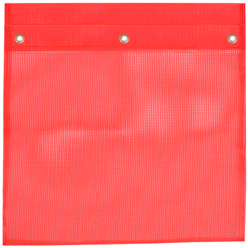 368G Pe Mesh Flag With Grommets