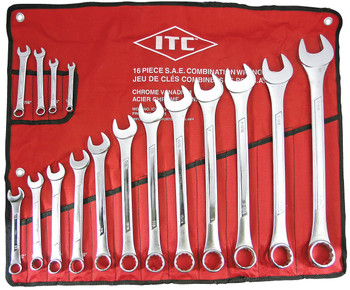 ICW-16 16 PC S.A.E. Combination Wrench Set