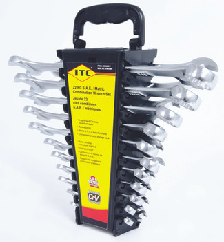 ICW-22SM 22 PC S.A.E. / Metric Combination Wrench Set