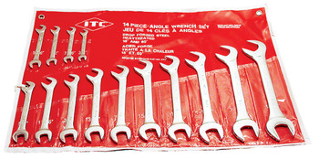 IACW-14 14 PC S.A.E. Angle Wrench Set - 60° & 15°