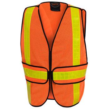 Pioneer 592A All-Purpose Safety Tear-Away Vest - Hi-Viz Orange | Safetywear.ca
