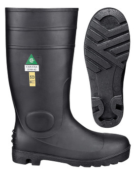 "1022 PVC 15"" Steel Toe/Steel Plate Boot 