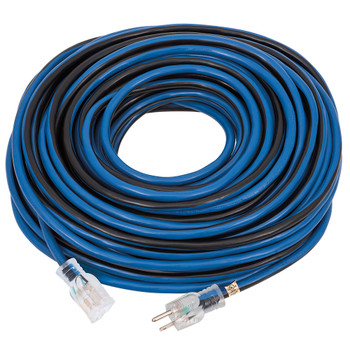 JLEC-12100S 12 Gauge 100 Foot Contractor Grade Extension Cord