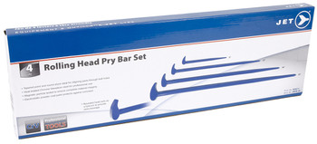 JRPB-4S 4 PC Rolling Head Pry Bar Set
