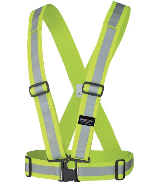 Safety Yellow - 5592 Hi-Viz Safety Sash | Safetywear.ca